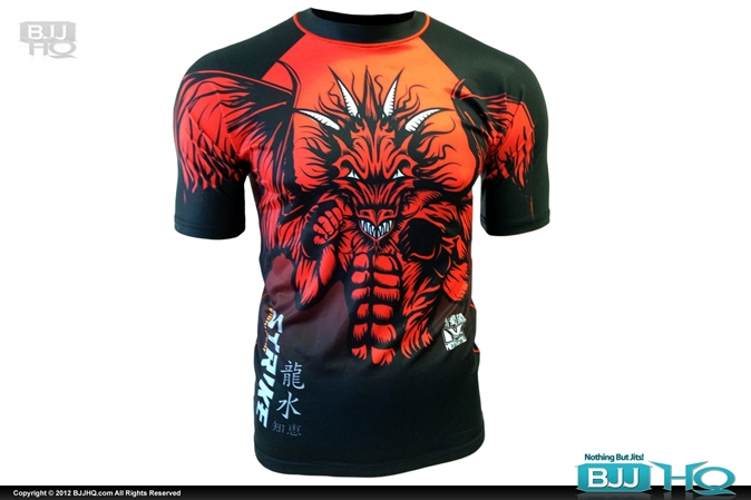 Strike Fightwear X Meerkatsu Red Dragon Rashguard